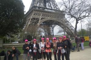 L'Eco-trail de Paris (marche nordique)